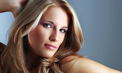 Women's Salon Package with Optional <strong>Color</strong> or <strong>Highlights</strong> from Ellen Young at Scioto View Plaza (Up to 69% Off)