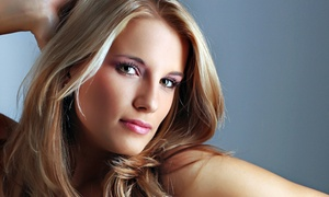 Ellen at Adele Marie Hair Studio: Women's Salon Package with Optional Color or Partial or Full Highlights at Scioto Hair Artists Group (Up to 72% Off)