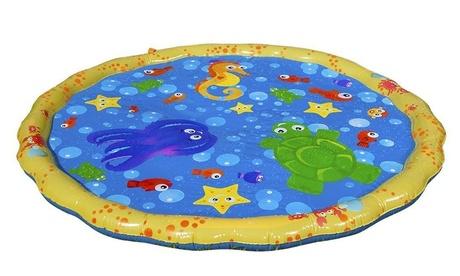 Alfombra de juegos para niños con fuente de agua (envío gratuito)