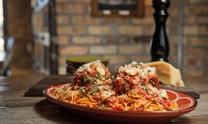 Jersey Meatball Company: Homemade Meatballs and Italian Food at Jersey Meatball Company (Up to 40% Off). Two Options Available.