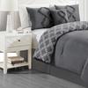 Manhattan Heights Ruffle Reversible Comforter Set (5-Piece)