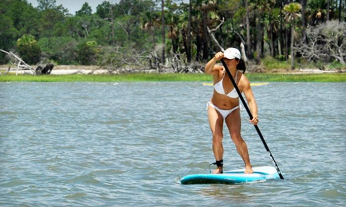 East Coast Paddleboarding - Tybee Island: Paddleboard Tour for 2 or 4 from East Coast Paddleboarding (Up to 57% Off)