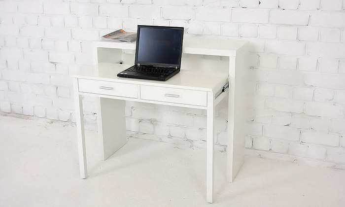 Bureau console extensible 2 en 1 blog de conception de for Bureau extensible
