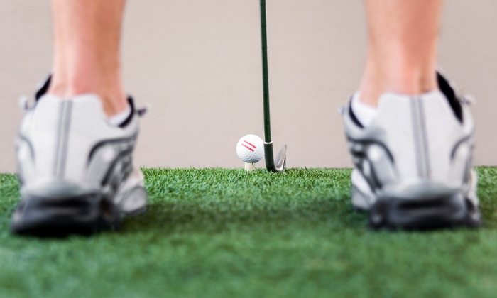 The Range on Oak Grove - Spartanburg: Ten Small Range Ball Buckets or Five 60-MInute Lessons at The Range on Oak Grove (Up to 51% Off)