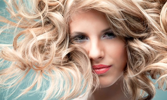 Alexandar Salon - Peachtree Heights West: Haircut and Style with Optional Partial or Full Highlights with Toner at Alexandar Salon (Up to 68% Off)