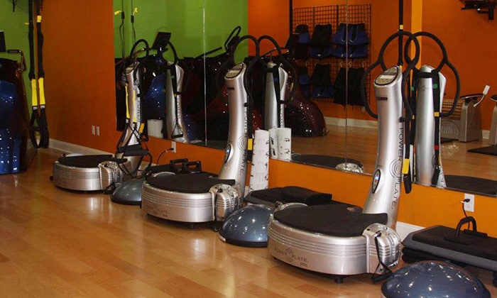 Versa Fit & Spa - Montclair: One SlimLine Oxygen Pod Session with Two, Four, or Six PowerPlate Sessions at Versa Fit & Spa (Up to 77% Off)