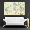 Up to 84% Off Canvas Giclee Wall Maps