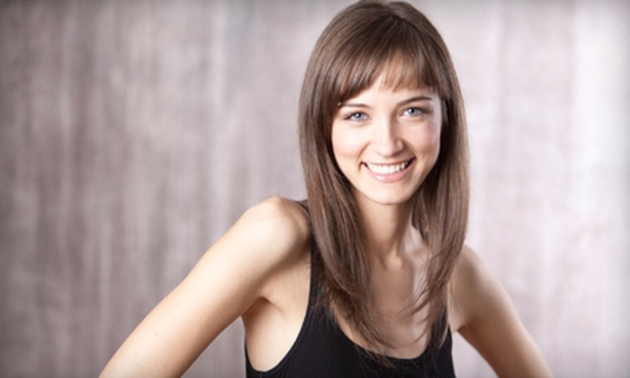 Zoog Hair Studio - Midtown South Central: Haircut with Option for Conditioning and Partial Highlights, or a Keratin Treatment at Zoog Hair Studio (Up to 77% Off)