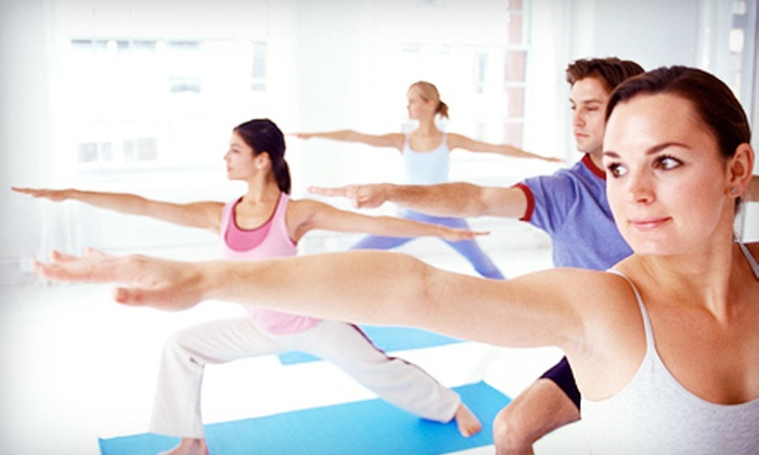 Fitness Rx - Multiple Locations: 10 Group Yoga, Zumba, Pilates, or Fitness Classes, or One Private Session at Fitness Rx (Up to 75% Off)