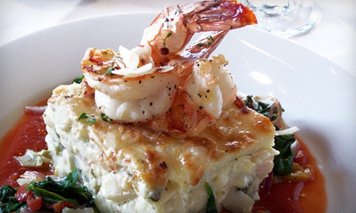 Cafe Trio - The Plaza: $20 for $40 Worth of Bistro-Style Lunch and Dinner Cuisine at Cafe Trio