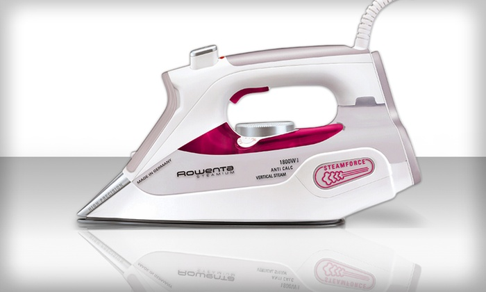 Rowenta 1800 Watt Steamium Iron: Rowenta 1800 Watt Steamium Iron (Refurbished). Free Shipping and Returns.