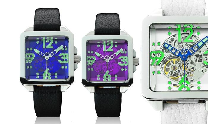 Galactopus 40 Skeleton Automatic Watch: Galactopus 40 Skeleton Automatic Watch. Multiple Designs Available.