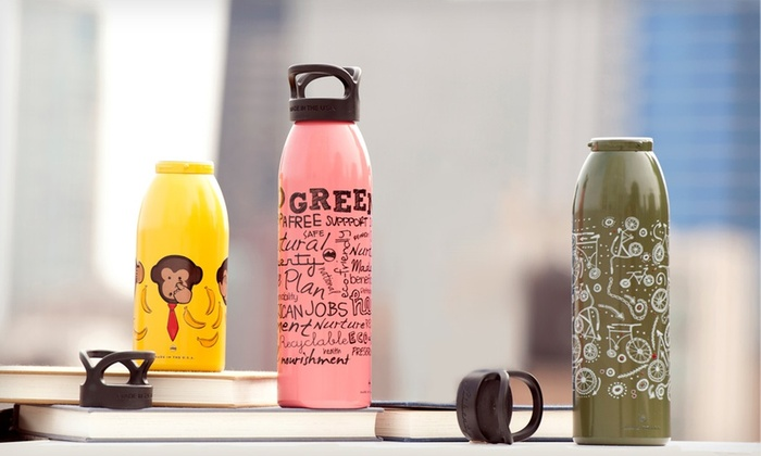 Liberty Bottle Works Water Bottles: 16 or 24 Oz. Liberty Bottle Works Artisan Water Bottle. Multiple Designs Available.