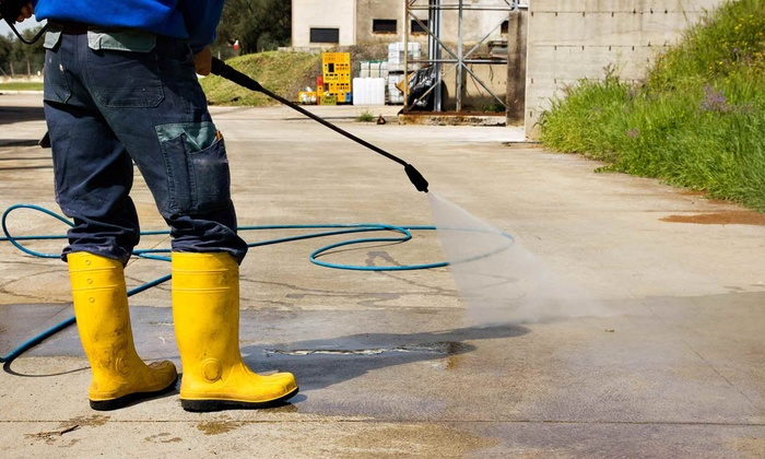 Steel City Mobile Detailing Pressure Washing - Pinehurst: Driveway or Deck Pressure Wash or Both from Steel City Mobile Detailing Pressure Washing (Up to 56% Off)