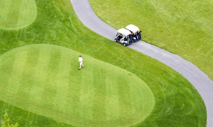 Sierra Meadows RV Park - Oakhurst-North Fork: $95 for a One-Night RV Stay with Two Rounds of Golf at Sierra Meadows Country Club (Up to $193 Value)