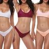 Women's Strappy Bikini Set