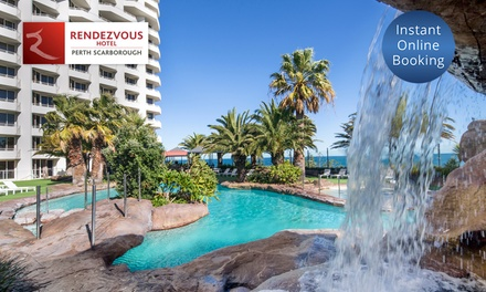 Perth: 1 2 Nights for Up to 2 Adults and 2 Children with Breaky and Late Check Out at Rendezvous Hotel Perth Scarborough