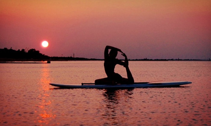 SUP Saskatoon - Saskatoon: Two-Hour Stand-Up Paddleboarding Yoga Session or Stand-Up Paddleboarding Lesson from SUP Saskatoon (Half Off)