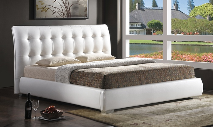 Baxton Studio Platform Bed Groupon Goods