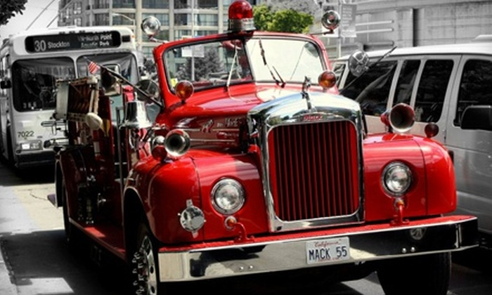 San Francisco Fire Engine Tours & Adventures - San Francisco Fire Engine Tours & Adventures: Spooky Halloween Tour for Two or Four from San Francisco Fire Engine Tours & Adventures (Half Off)