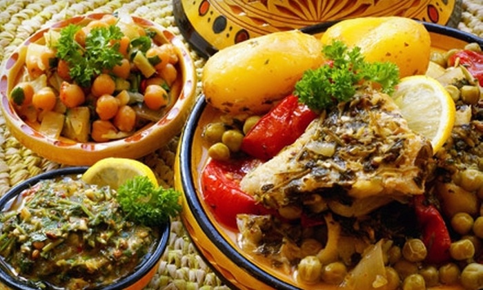 Tajine Alami - Old Colorado City: Six-Course Moroccan Dinner for Two or Four at Tajine Alami (Up to 62% Off)