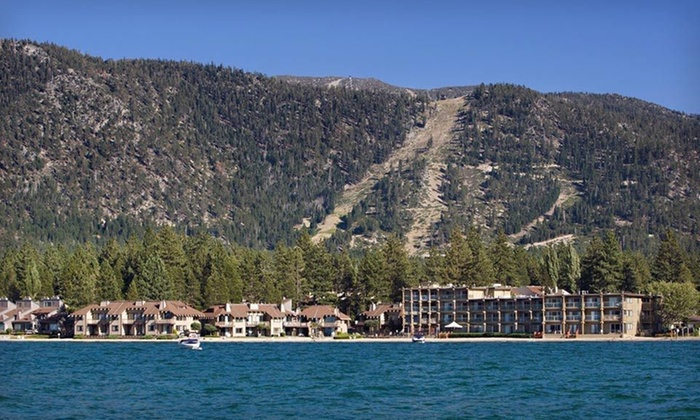 Tahoe Lakeshore Lodge & Spa - South Lake Tahoe, CA: $184 for a Two-Night Stay Sunday-Thursday at Tahoe Lakeshore Lodge & Spa in South Lake Tahoe, CA (Up to $308 Value)