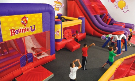 Unlimited Open Bounces, Three-Day Art or Technology Kids' Camp, or Private Kids' Party at BounceU (Up to 50% Off)