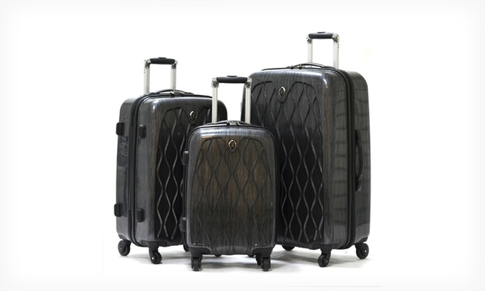 Olympia 3-Piece Luggage Sets: Olympia Hancock, Iceberg, or Palm Beach 3-Piece Luggage Set (Up to 67% Off). Free Shipping and Returns.