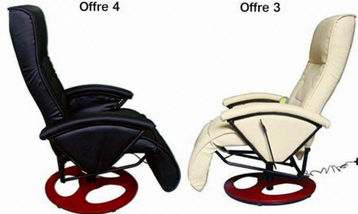 Fauteuil électrique Massant Et Chauffant Groupon Shopping