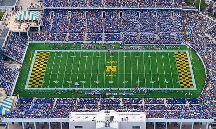 U.S. Naval Academy Football - Annapolis: Navy Football Game at Navy-Marine Corps Memorial Stadium on Saturday, September 29 ($35 Value)