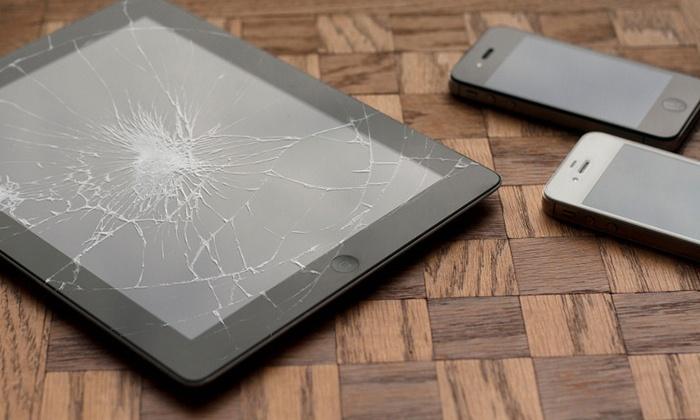 Réparation de vitre, face avant ou bouton home, ou pouse de film protecteur d'iPhone dès 12 € avec N.J Com