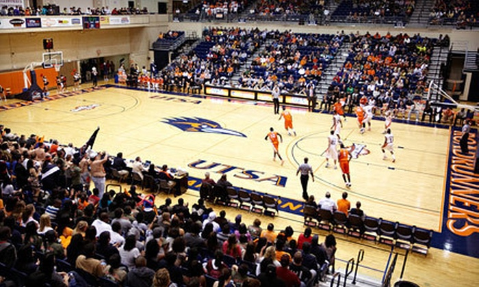 UTSA Men's and Women's Basketball - Northwest Side: $30 for a 12-Ticket Package for UTSA Men's and Women's Basketball at UTSA Convocation Center (Up to $84 Value)