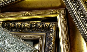 Galleria Art & Frame: Custom Framing at Galleria Art & Frame (Up to 67% Off). Two Options Available.