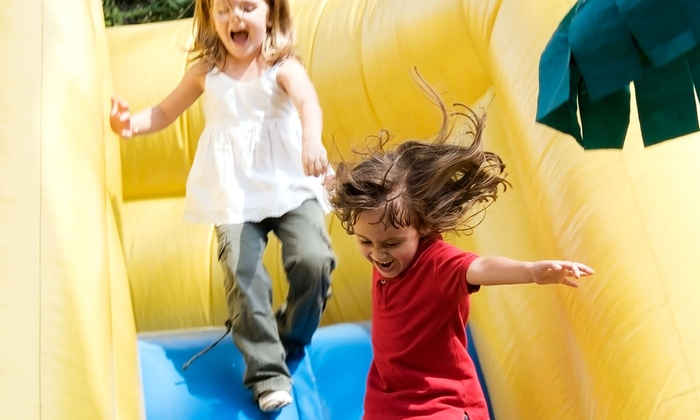 Jumpin' Jam Blast - Forestville: $125 for a Four-Hour Moon-Bounce Rental from Jumpin' Jam Blast ($250 Value)