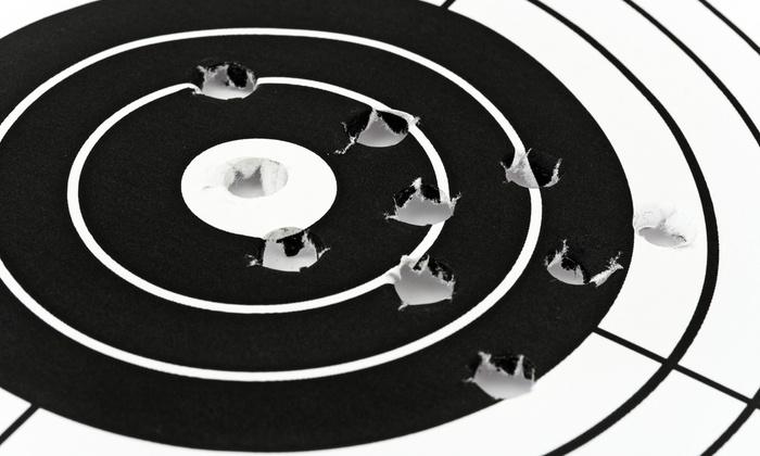 Pembroke Gun & Range - Pembroke Park: Shooting-Range Package for Two or Four at Pembroke Gun & Range (Up to 57% Off)