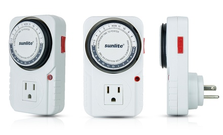 2-Pack of Sunlite 24-Hour Heavy Duty Appliance Timers