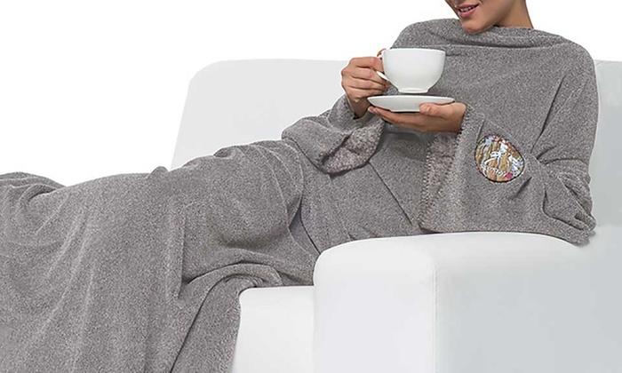 flauschige decke groupon goods. Black Bedroom Furniture Sets. Home Design Ideas