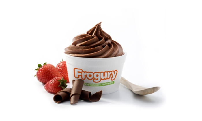 Frogury - Tampa: $10 for Two Groupons, Each Good for $10 Worth of Frozen Yogurt, Juices, and Coffee at Frogury ($20 Value)