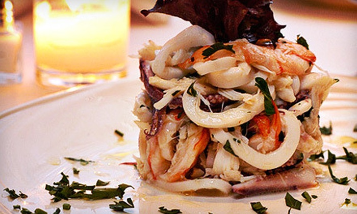 Destino - Midtown East: Three-Course Upscale Italian Dinner for Two or Four with Wine at Destino (Up to 60% Off)