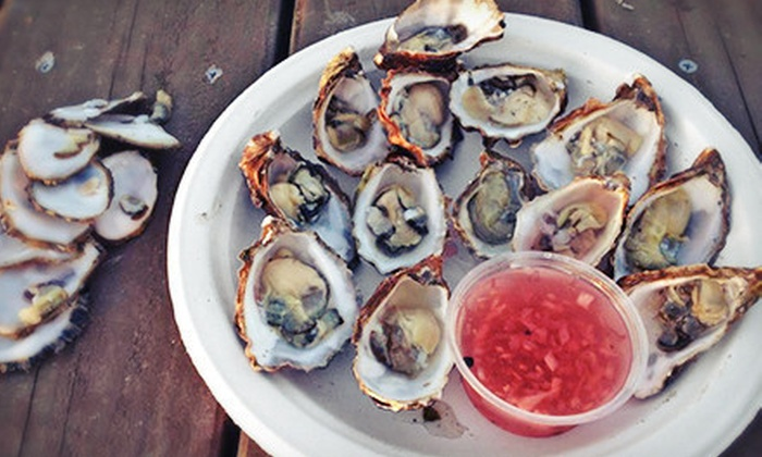 The Jolly Oyster - San Buenaventura (Ventura): 20 or 40 Kumamoto Oysters from The Jolly Oyster (Up to 53% Off)