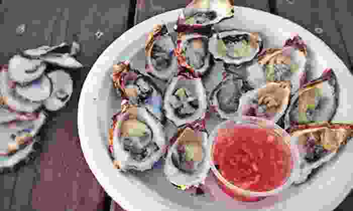 The Jolly Oyster - San Buenaventura (Ventura): 20 or 40 Kumamoto Oysters from The Jolly Oyster (Up to 53% Off)
