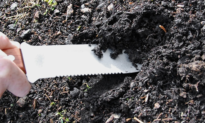 Hori hori gardening tool groupon goods for Gardening 4 less groupon