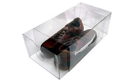 Fino a 30 scatole trasparenti per scarpe e accessori