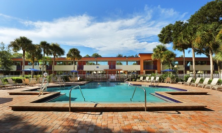 groupon daily deal - Stay at Maingate Resort and Spa in Kissimmee, FL; Dates Available into December
