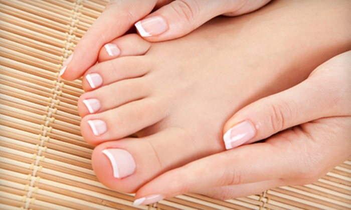 For Your Nails Only by Brenda - Longwood: Classic Mani-Pedi or One or Two Shellac Manicures and Classic Pedicures at For Your Nails Only by Brenda (Up to 56% Off)