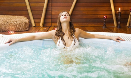 2h de spa privatif pour 2 personnes avec kirs royaux, salades et surprises gourmandes à 89 € chez Atypique Spa