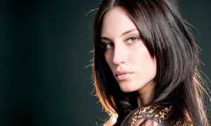 Adagio Euro Salon: Haircut with of Option for Single-Process Color or Full Highlights at Adagio Euro Salon (Up to 55% Off)