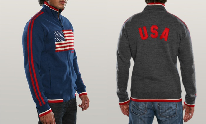 Mondetta Men's Patriotic Zip-Ups: Mondetta Men's Patriotic Zip-Ups. Multiple Styles and Colors Available. Free Shipping and Returns.