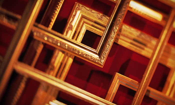 Barnett's Art & Frame Gallery - Lakeshore: Custom Framing Services at Barnett's Art and Frame Gallery (Up to 57% Off). Three Options Available.