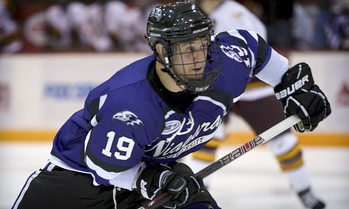 Niagara University Men's Hockey Games at Dwyer Arena (Up to 60% Off). Six Options Available.